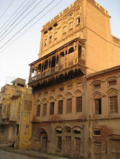 Havelis of Bhera, pakistan