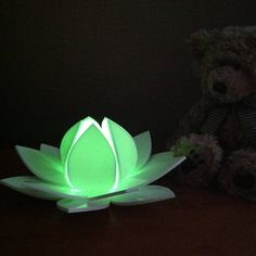 lotus flower colour changing led with sensor by kirsty shaw | notonthehighstreet.com