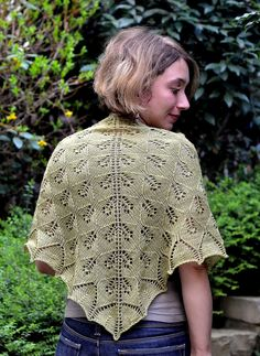 Cassandra by Marie Adeline, free lace shawl knit pattern