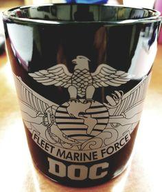 FMF DOC Coffee Mug | Fleet Marine Force | Military Coffee Mug | Free Shipping