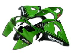 333.87$  Buy here - http://ali87y.worldwells.pw/go.php?t=1977618987 - CUSTOM Motorcycle Fairing kit for KAWASAKI Ninja ZX9R 2000 2001 ZX9R 00 01 TOP Green black ABS Fairings bodywork+7 gifts SD50 333.87$