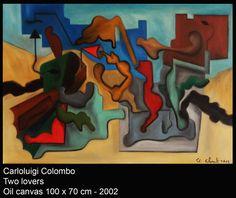 Carloluigi Colombo, oil, art, painting, italian, Riolo Terme, Italia, love