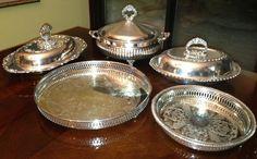 silver serving dishes   silver serving dishes & trays