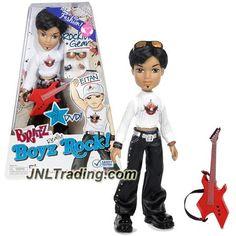MGA Entertainemnt Bratz Passion 4 Fashion Boyz Rock Series 10 Inch Doll - EITAN…