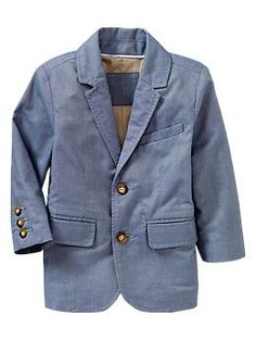 I am just going for it, this is Jack's new Spring jacket! Why not? Oxford blazer | Gap