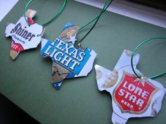 Upcycled Beer Cans -> Christmas Tree Ornaments
