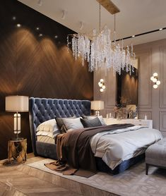 The way you decorate your home is somehow similar to choosing beautiful clothes to wear on a daily basis. An impressive interior decoration of your home or office is essential for your own state of mind, if nothing else. Hotel Bedroom Design, Master Bedroom Interior, Home Decor Bedroom, Bedroom Small, Kids Bedroom, Bedroom Ideas, Luxury Interior, Decor Interior Design, Interior Decorating