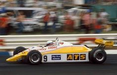 1982 Eliseo Salazar; ATS D5 Ford