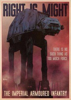 Star Wars propaganda art