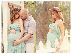 Fawn Over Baby: Enchanted Garden Maternity Session By Brandi Smyth Photography