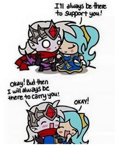 #Leagueoflegends#sona#varus#support#adc#meme#love#cute#
