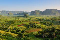 Viñales valley in Cuba = Unesco World Heritage