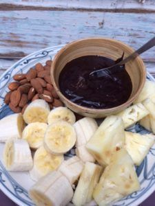 Guilt Free Chocolate Sauce
