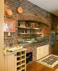 35 Ideas – Give Your Home A Rustic or Industrial Touch With Brick Wall