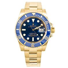 Men's Certified Pre-Owned Watches - Rolex Rolex Submariner automaticselfwind mens Watch 116618LB Certified Preowned -- You can find more details by visiting the image link. (This is an Amazon affiliate link)