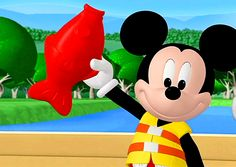 One of my favorite Mickey Mouse club episodes where Mickey goes big red gooey fishing at Star Lake.