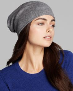 C by Bloomingdale s Angelina Cashmere Slouchy Hat - 100% Exclusive Jewelry    Accessories - Bloomingdale s f69496c29ce1