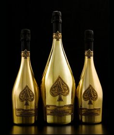 Perhaps A Little Bubbly... Great Packaging Vegas Style! Armand de Brignac Ace Of Spades Champagne Rose