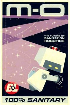 WALL·E poster for the clean robot, M-O. #space #curiosity