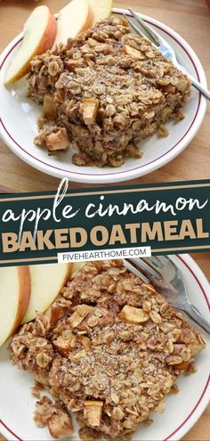Apple Cinnamon Baked Oatmeal is sure to become a fall favorite! Not only is this recipe quick and simple, but it is also easy to customize and ideal for making ahead. Full of healthy ingredients, this wholesome breakfast is the perfect way to warm up on a chilly morning!