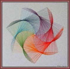 Waldorf ~ 6th grade ~ Geometry ~ String Art