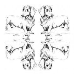 Creative Canine Prints from Winnie Maeve | The Barkitect