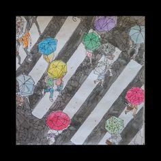 watercolor & pen Pen And Watercolor, My Arts, Rugs, Home Decor, Farmhouse Rugs, Decoration Home, Room Decor, Home Interior Design, Rug
