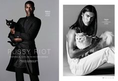 Models with Cats: Chad White, Garrett Neff, RJ Rogenski + More for Out image Models with Cats photo 001 800x552