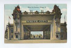 the white city, chicago, illinois,world's columbian exposition of 1893, vintage postcard. $12.00, via Etsy.