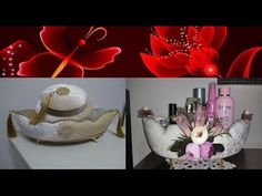 Kadife Gondol Yapımı | Gondol Kaplama&Süsleme |How to:Create a Velvet Decor Box |Samt Box Deko | DIY - YouTube