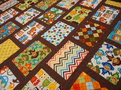 Zoologie fabric by Kaufman - gorgeous quilt!