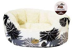 40 Winks Luxury Oval Sleeper Black Cream...