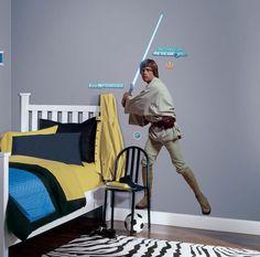 Star Wars Luke Skywalker Cutout Wall Decal