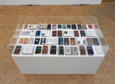 London Visual arts: Dieter Roth Diaries installation shot at Camden Arts Centre © Photo by Andy Keate Dieter Roth, Book Art, Artist's Book, Gcse Art, Camden, Diaries, Concept Art, Photo Wall, Display