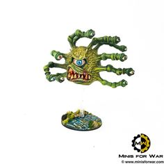 Dungeons & Dragons – Xanathar Beholder – Minis For War Painting Studio Forgotten Realms, Painting Services, Painting Studio, Dungeons And Dragons, Minis, Hero, Fantasy, Artist, Rpg
