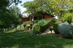 Green Tourism In Greece Greece Tourism, Delicious Restaurant, Cabins In The Woods, House Styles, Green, Nature, Plants, Home, Naturaleza