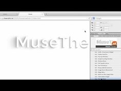 Adobe Muse Moving Text Shadows Widget | MuseThemes.com