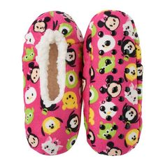 Disney's Tsum Tsum Girls 4-16 Fleece-Lined Slippers, Girl's, Size: