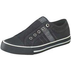 fe1f186a6a2b Oliver Sneaker Slipper Damen schwarz   - Kategorie  Damen  SchuheSlipperSneaker Textil schwarz lässiger