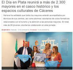 Cáceres apuesta por el envejecimiento activo organizando el Día en Plata  http://www.dependenciasocialmedia.com/2014/04/caceres-apuesta-por-el-envejecimiento-activo-organizando-el-dia-en-plata/