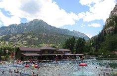 ouray hot mineral springs, colorado