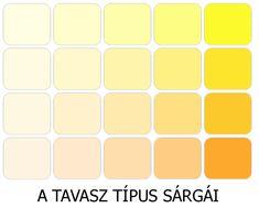 MELEG SZÍNEK - A TAVASZ ÉS ŐSZ TÍPUS SZÍNEI - Kívül-Belül Vonzó Light Spring, Spring Colors, Eyeshadow, Hourglass, Theory, Shape, Colour, Google, Color