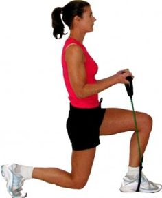Resistance bands are easy to use and add to an exercise or stretching routine
