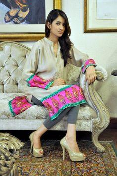 Shirin Hassan Summer Dresses 2013 For Girls 0014