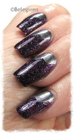 Nail Art by Belegwen: Shimmer Polish: Jacki
