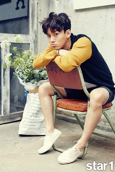 Chen EXO on Star1 magazine