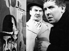 """Joel Rinne & Pentti Siimes in """"Kaasua, komisario Palmu"""" Movie Stars, Che Guevara, Cinema, Film, Actors, People, Books, Movies, Tv"""