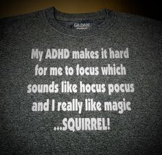 Youth My ADHD Makes It Hard To Focus by CWSportsGraphicsCo