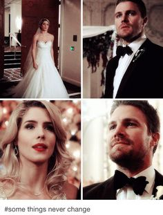 Oliver is always in awe whenever he sees Felicity.