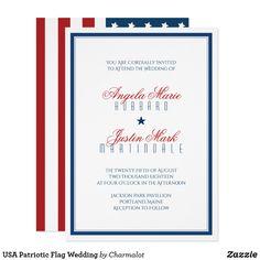 USA Patriotic Flag W